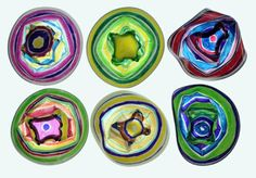 Chihuly Cups Art Project • Artchoo.com