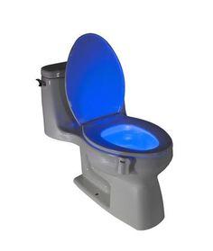 GlowBowl - Motion Activated Toilet Nightlight
