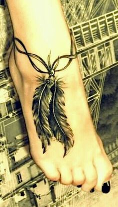 Dream catcher tattoo, love this
