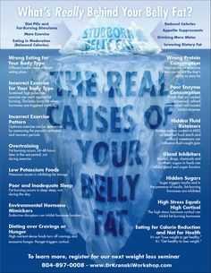 The Real Causes Of Your Belly Fat