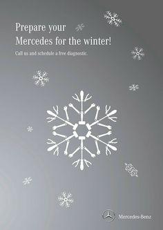 Mercedes-Benz Winter ad