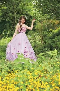 Disney Princess Wedding Dresses. Kuraudia Co. in Japan will have fourteen dresses in the collection, showcasing styles for Belle, Ariel, Rapunzel, Aurora, Snow White, and Cinderella. http://www.cosmopolitan.com/style-beauty/a12443857/disney-princess-wedding-dresses/?src=socialflowFB