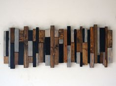 Reclaimed Wood Wall Art by RusticWarmthDecor on Etsy