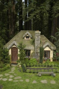 Have  cute little play house for my kids except make it the size for teenagers so I can play with them and they can have fun as teens too.