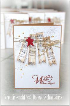 ♥ Kreativ - Sucht ♥: Meine Weihnachtskarten