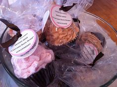 Cupcake Bath Bombs... so cute!! and they look good enough to eat!!