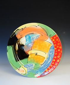 Ceramics by Richard Wilson at Studiopottery.co.uk - 2015. Plate