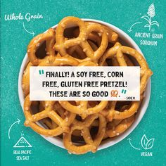 Finalllyyy! A soy free, corn free, gluten free pretzel! Something like this is hard to find people!