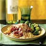 Herbed Chicken Parmesan Recipe   MyRecipes.com