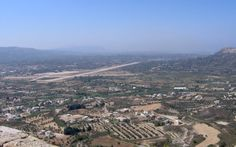 Vakantie Rhodos Trianda Ialyssos - landschap