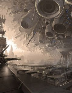 Breathtaking Concept Art by Maxim Revin- What a concept!