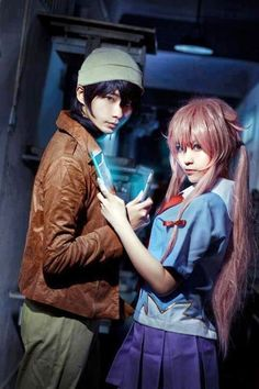 Amano Yukiteru & Gasai Yuno | Mirai Nikki #cosplay #manga