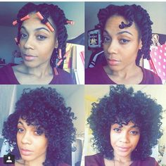 Cute Twist And Curl - http://community.blackhairinformation.com/hairstyle-gallery/natural-hairstyles/cute-twist-curl-2/ #naturalhairstyles