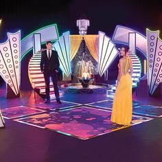 Disco Lite Ballroom Complete Prom Theme