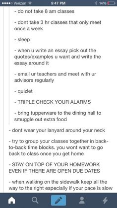 Life hacks to college life! School Life Hacks, College Life Hacks, School Study Tips, College Tips, School Tips, College Survival Guide, Survival Tips, College Checklist, Uni Life
