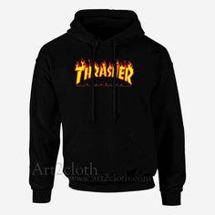 00bac638af28 Thrasher Fire Magazine Unisex Hoodie