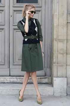 I wish it. The Best Street Style From Paris Fashion Week Photo 1