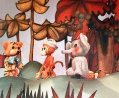Prečo bývajú slony v mladosti smutné, 34´, 1976 Pôvodná televízna bábková inscenácia Věnceslavy Dytrichovej v preklade Marianny Grznárovej. Príbeh zvieratiek z džungle o tom, že priateľstvo môže vzniknúť iba pri vzájomnom porozumení a dôvere. Hlavným hrdinom je malý slon Tambo a spolu s opičkou Akou prežíva všetky radosti svojho veku. Výtvarník: Cigán Peter Réžia: Šebová Lucia