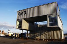GAD is a Mobile Shipping Container Gallery For Traveling Art E...