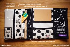Porte-documents pour votre sac à main - Pop Couture - To do/to try for me & the others Pop Couture, Couture Sewing, Diy Bags Purses, Diy Purse, Range Document, Sewing Hacks, Sewing Projects, Sewing Tips, Creation Couture