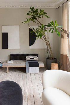woontrends 2021 japandi interieur Minimalist Interior, Minimalist Home, Minimalist Bedroom, Boho Living Room Decor, Interior And Exterior, Interior Design, Interior Stylist, Design Interiors, House Interiors