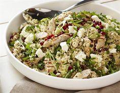 Quinoa, Chicken and Feta Salad Recipe | Legendairy