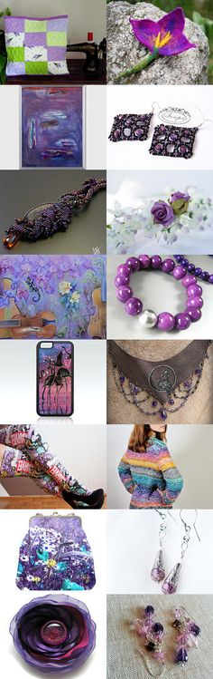 Purple :) by poletsy on Etsy--Pinned+with+TreasuryPin.com