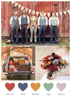 Party Palette: Barn Red + Denim - The Sweetest Occasion — The Sweetest Occasion