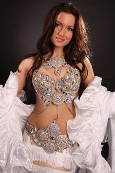 unique belly dancing costume