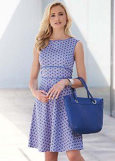 Floral Print Dress | Dresses | Fashion | Kaleidoscope So pretty! :) #ShiptoShore