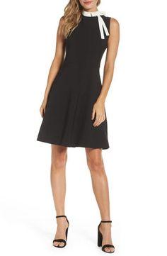 Maggy London Bow Sheath Dress (Regular & Petite)
