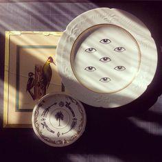 Assiettes Little Madi - crÇdit Little Madi Lovers Eyes, Pop Up, Tea Lights, Decorative Plates, Illustration Art, Candles, Inspiration, Decoration, Trends