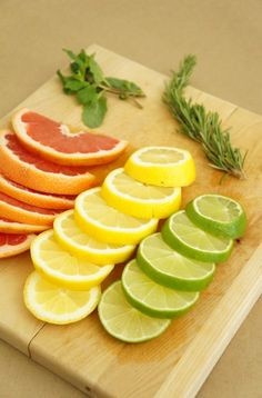Use sliced citrus, ginger and herbs to create a medley of fresh simmering pot recipes to naturally fragrance your home for Spring