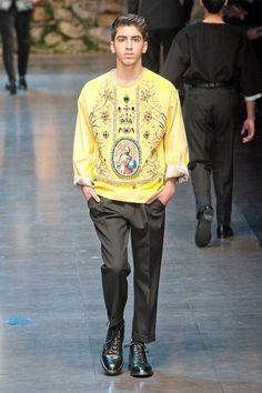 Dolce & Gabbana Otoño-Invierno 2013, una experiencia religiosa