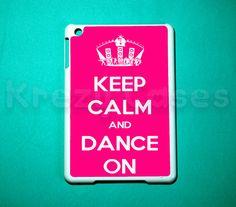 iPad mini case - Keep calm and dance on iPad mini cover for iPad mini. $24.99, via Etsy.