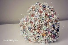 Multi Award Winning Bouquet Designers - Vintage Crystal Bouquets
