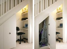 New Storage Under Stairs Ideas
