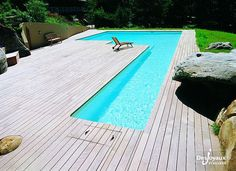 In-Ground Swimming pools. Search all products, brands and retailers of In-Ground Swimming pools: discover prices, catalogues and new features Diy Swimming Pool, Natural Swimming Pools, Swimming Pool Designs, Swiming Pool, Natural Pools, Small Backyard Pools, Small Pools, Piscina Diy, Container Pool