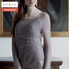 Free Rowan Knitting Pattern - LoveKnitting Blog  Yarn Ball Weight:  25g Yarn Meterage/Yardage:  210/229 Tension/Gauge Stitches:  18-25 Tension/Gauge Rows:  23-34