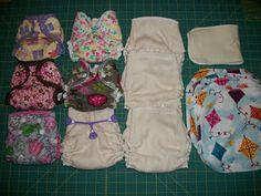 Simple Diaper-Sewing Tutorials