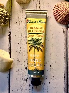 Cocoa Butter, Shea Butter, Red Raspberry Seed Oil, Florida Oranges, Mango Fruit, Natural Preservatives, Orange Blossom, Hand Cream, Hemp Oil
