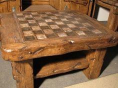 Стол под старину Шахматный