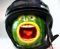 This is a funny picture of a screaming water melon fruit. Humor at its best :D  An article I wrote about healthy digestive system and sports performance.