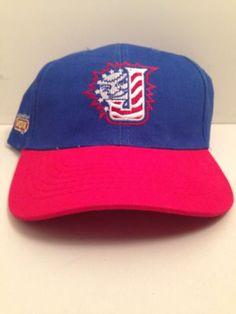 Jacksonville Suns Minors Baseball Adjustable One Size Adult Blue Cap Hat Nwot