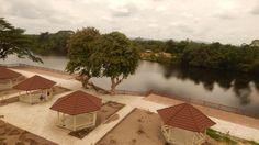 River view at the back of Farmington Hotel. Photo: Gbatemah Senah