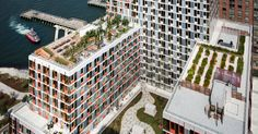 New York Buildings With Communal Gardens
