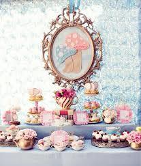 dessert table alice in wonderland