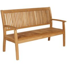 Barlow Tyrie Glenham 8' Bench: Great teak bench for large gardens