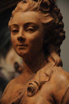 Portrait Bust of a Young Woman, Jean-Jacques Caffieri