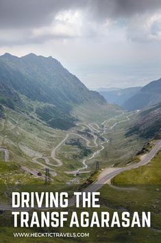 It is supposed to be one of the most scenic road trips in the world - driving the Transfagarasan - so we had to do it for ourselves. Visit Romania, Back In Time, Eastern Europe, Road Trips, Mountains, Country, World, Travel, Viajes
